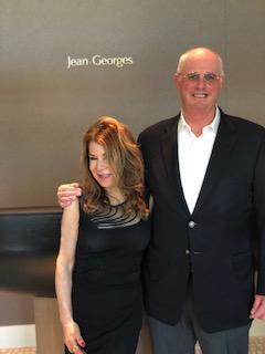 Tom Gamble and Marisa D'Vari