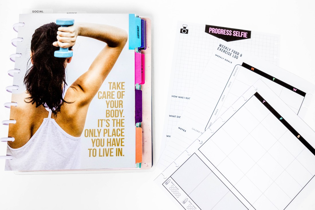The Fitness Extension Pack from The Happy Planner