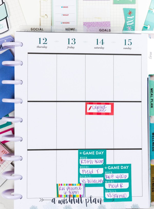 3 Ways to Use Sticky Notes in Your Planner + How to Store Them