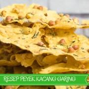 Resep Peyek Kacang Garing
