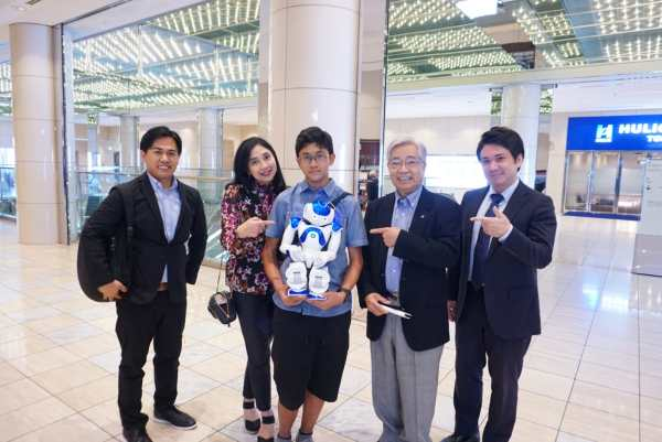 With Mrs.Anita Tanjung and Japan Third Party