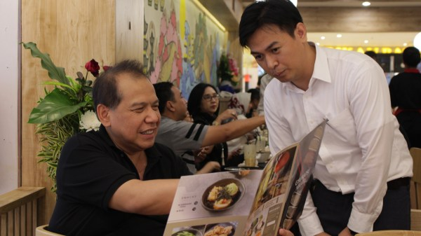 With Mr. Chairul Tanjung Opening Japanese Restaurant