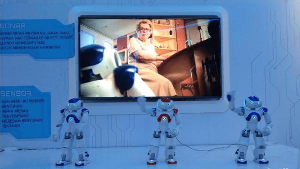 Launching Nao Robot at Trans Studio Cibubur