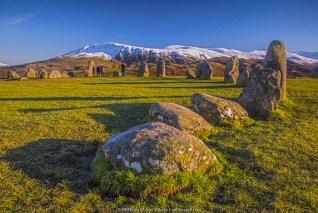 UK, England, Cumbria, Lake District, Keswick, Castlerigg Stone Circle