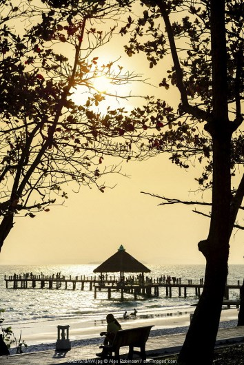 Asia, South East Asia, Cambodia, Sihanoukville - the largest city on the Cambodian coast