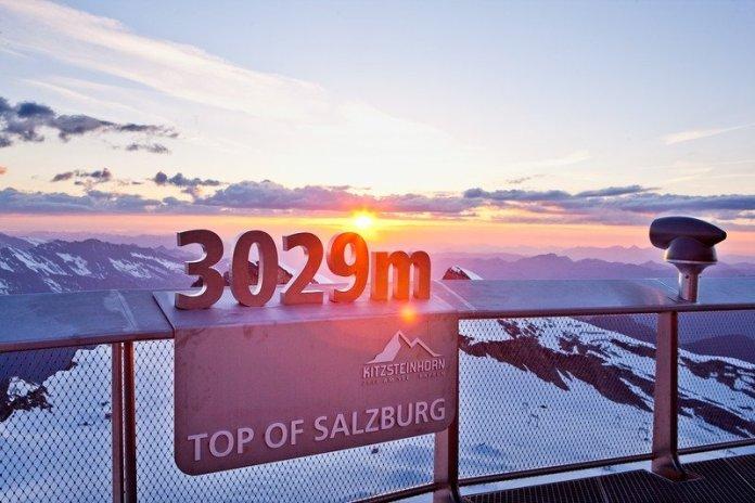 De Kitzsteinhorn: top of Salzburg. Bron: zellamsee-kaprun.com