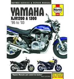 picture of haynes manual 3981 yam xjr1200 1300  [ 1200 x 1200 Pixel ]