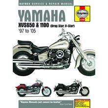 AW Motorcycle Parts Haynes Manual 4195 Yamaha XVS650 & 1100 DRAG STAR 9705
