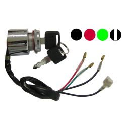 aw motorcycle parts ignition switch universal 4 wire held start switch wiring moped universal starter switch wiring diagram [ 1200 x 1200 Pixel ]