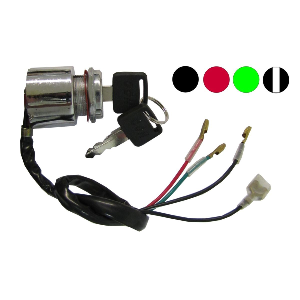 hight resolution of aw motorcycle parts ignition switch universal 4 wire held start switch wiring moped universal starter switch wiring diagram