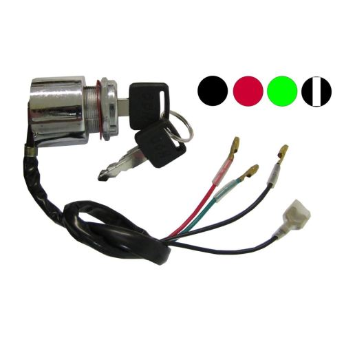 small resolution of aw motorcycle parts ignition switch universal 4 wire held start switch wiring moped universal starter switch wiring diagram