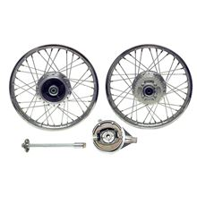 AW Motorcycle Parts. Rear Wheel XL125R style drum brake