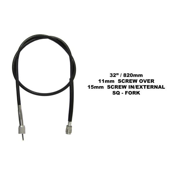 AW Motorcycle Parts. Speedo Cable Suzuki GP100, X7, GS125