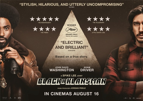BlacKkKlansman (2018) Review – Andrew's Move Spot