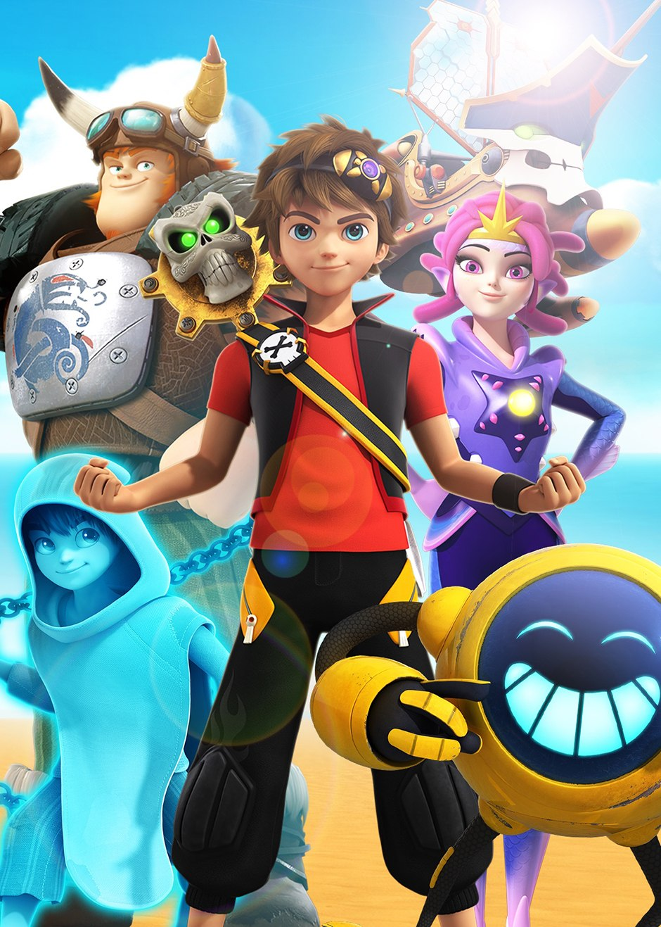 Zak Storm, Super Pirate : storm,, super, pirate, Bandai, Storm', Show,, Toys,, Mobile, Animation, World, Network