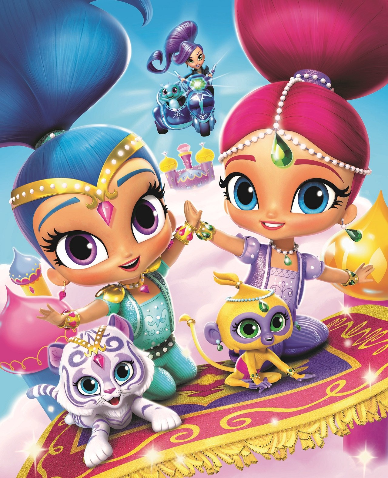 Shimmer And Shine Magical Genie Games Free Download : shimmer, shine, magical, genie, games, download, Nickelodeon, Launching, Season, 'Shimmer, Shine', Animation, World, Network