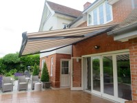 Large Electric Patio Awning Fitted in Southampton ...