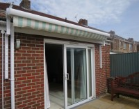 Electric Patio Awning Fitted in Portsmouth - Awningsouth