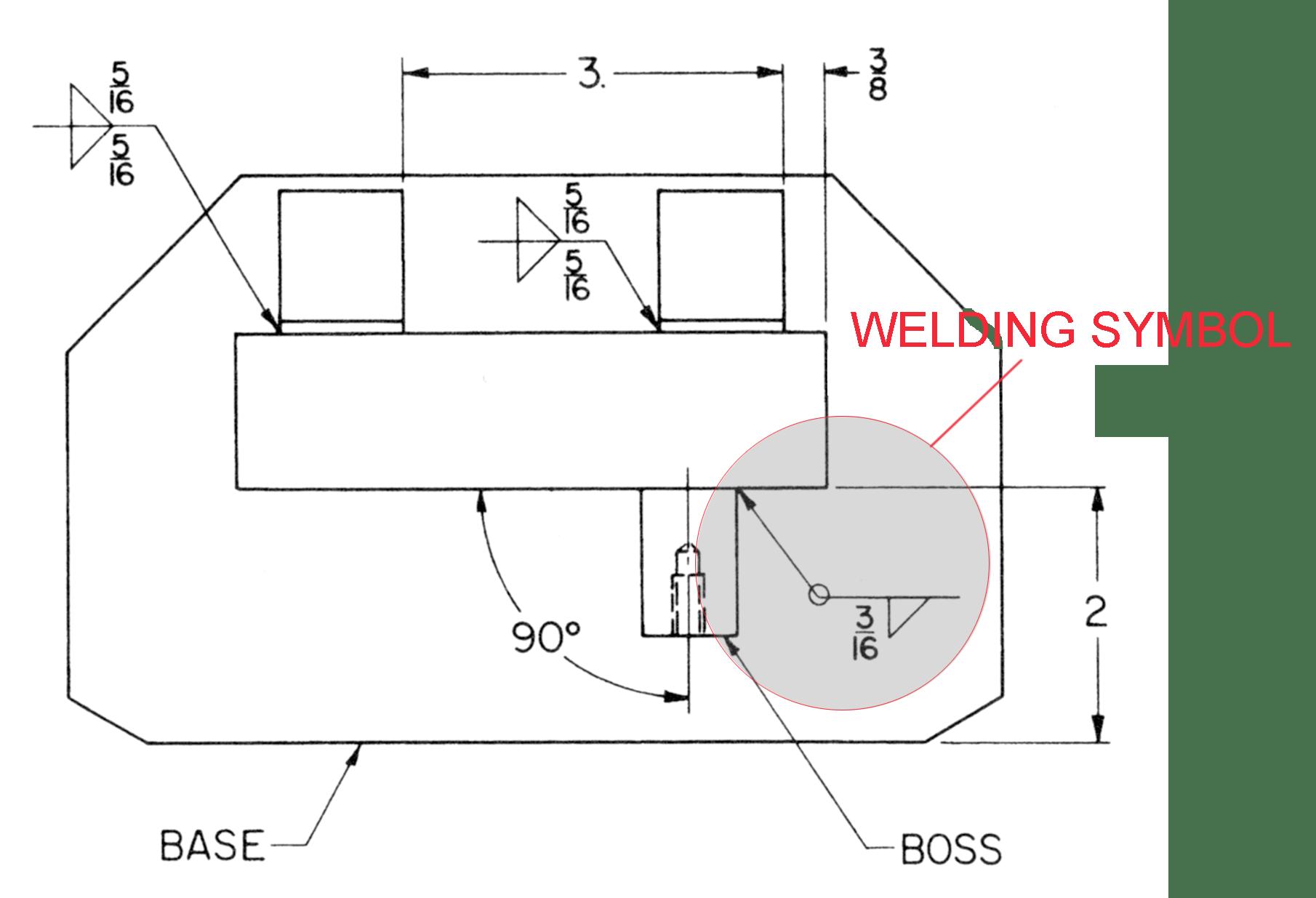 hight resolution of welding symbol
