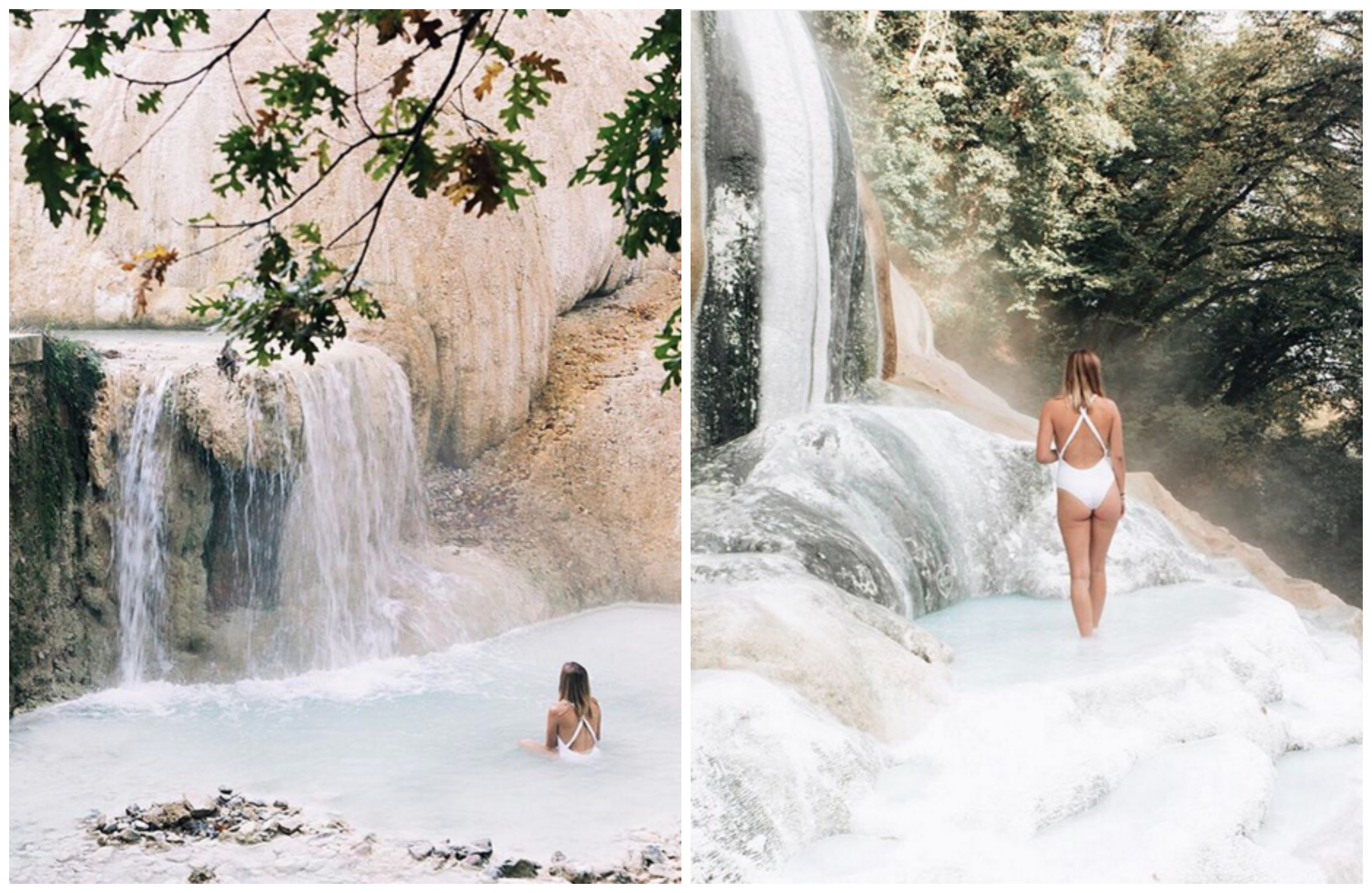 Wish You Were Here Fosso Bianco Hot Springs Tuscany