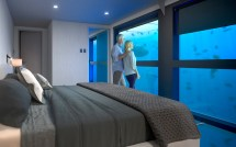 Underwater Hotel Opening In Great Barrier Reef