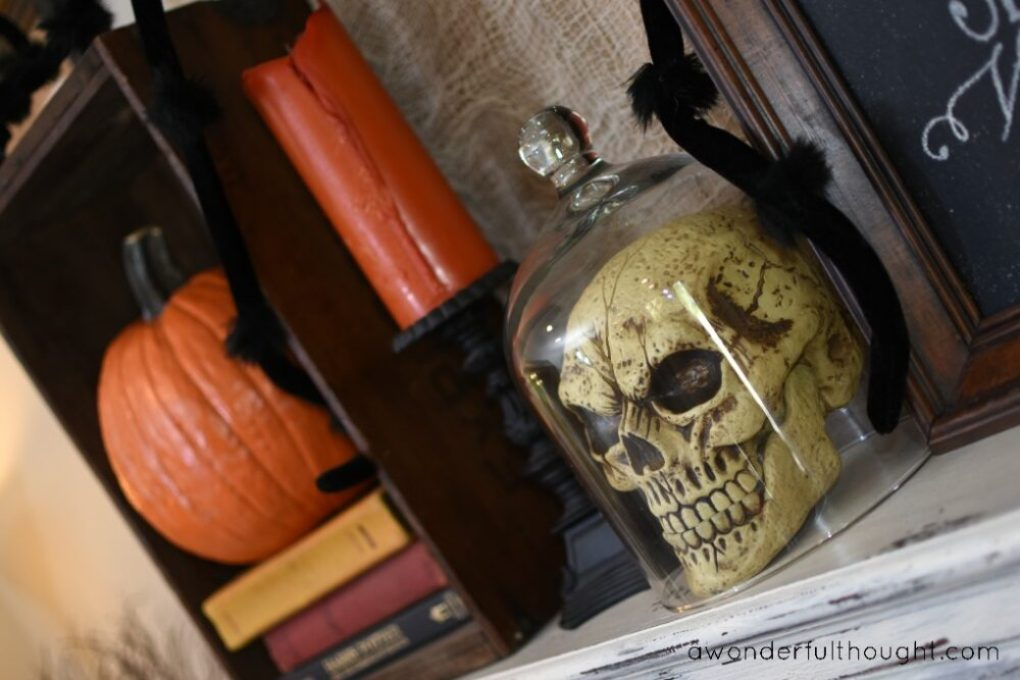 A Wonderful Thought | Classy Halloween Decor | www.awonderfulthought.com