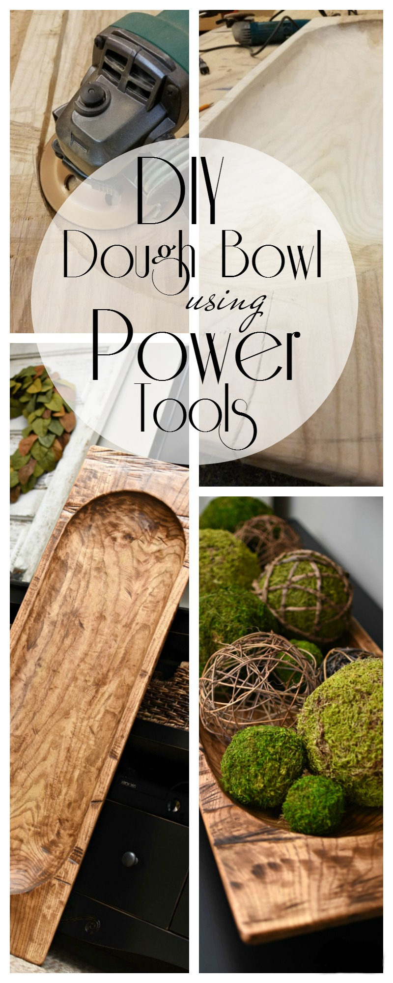 Diy Dough Bowl Using Power Tools A Wonderful Thought