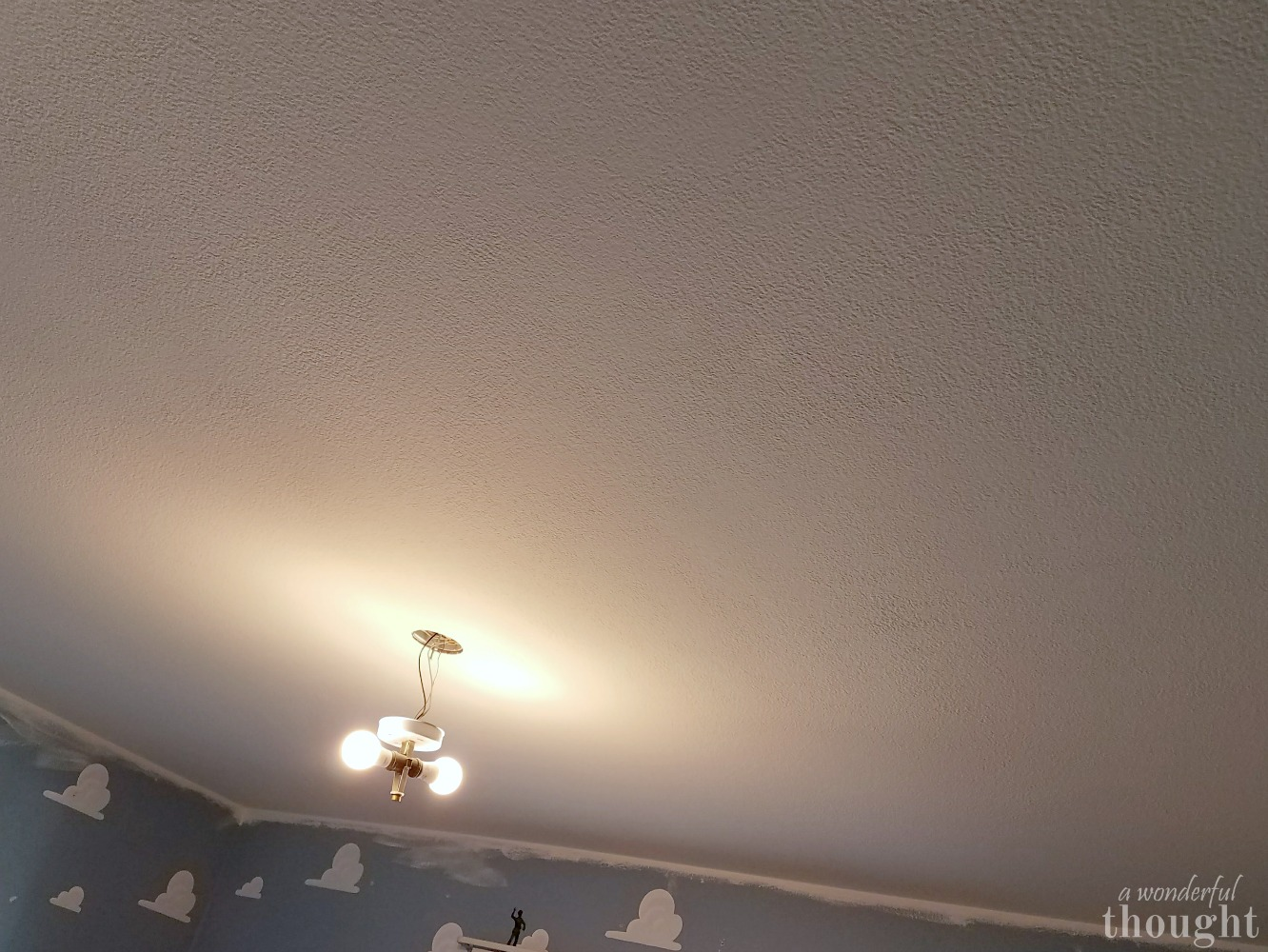 2 Ways to Remove Popcorn Ceilings - A Wonderful Thought