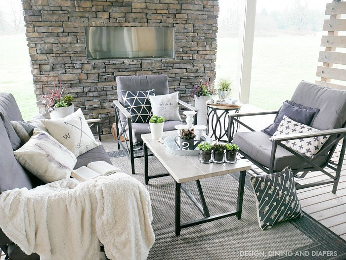 12 Ways To Make Your Patio Or Deck More Homey. Add Coziness By Doing These