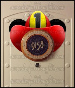 Stateroom Mickey Ears Firefighter Helmet | awonderfulthought.com