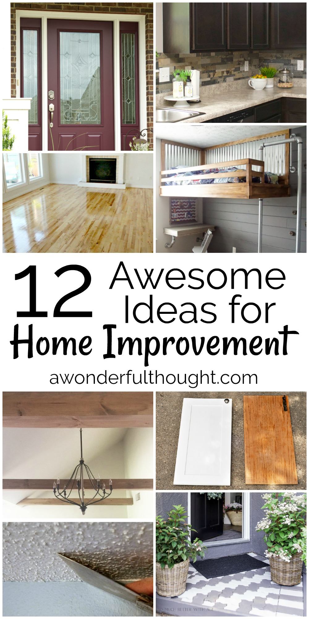 12 awesome home improvement ideas | mm #163 - a wonderful thought
