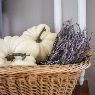 Simple Fall Decor | awonderfulthought.com