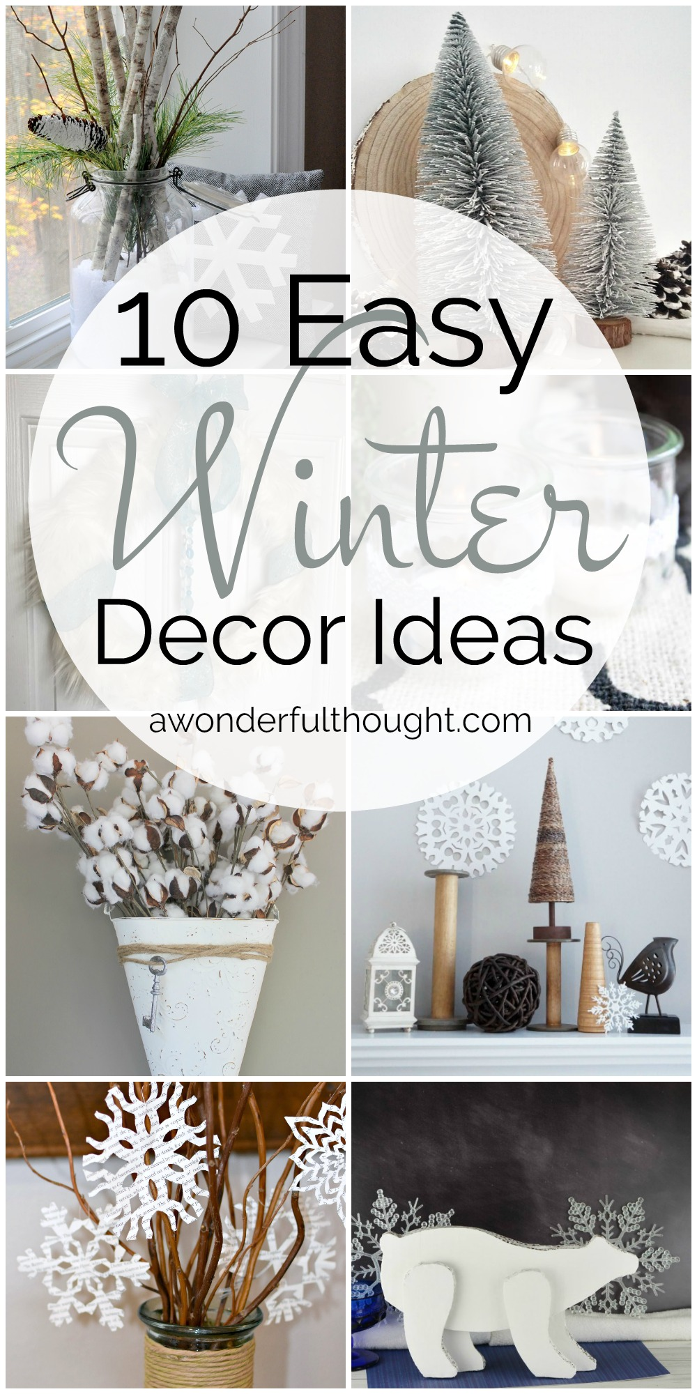 10 Easy Winter Decor Ideas | MM #186 - A Wonderful Thought