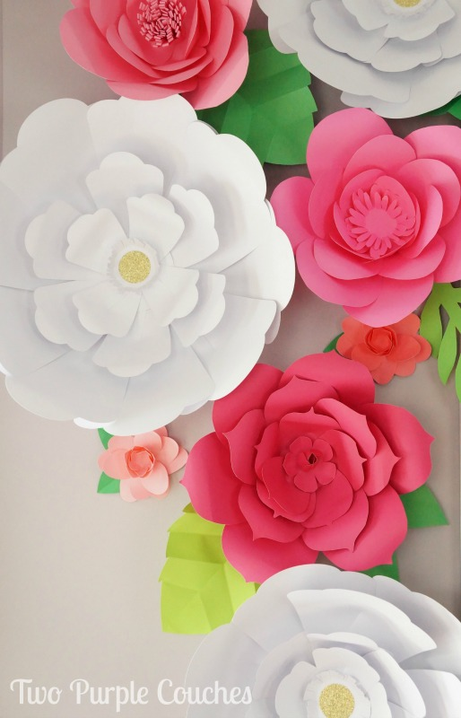 Beautiful Paper Flower Crafts A Wonderful Thought