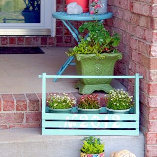 DIY Planter Ideas to Spruce Up your Porch or Patio #planters #diyplanters #porchdecor #patiodecor #deckdecor #awonderfulthought