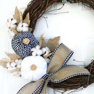 Easy Fall Wreaths | #fall #fallwreaths #diywreaths #easyfallwreaths #wreaths #awonderfulthought