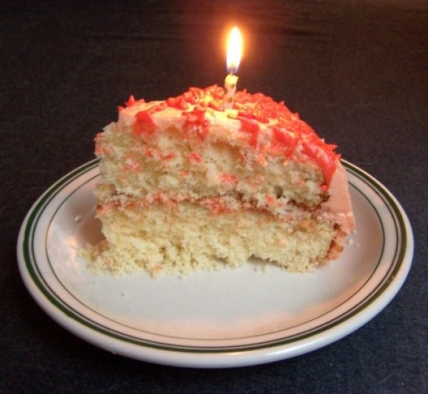 A note to the chef (in icing) (featuring Birthday Cake)
