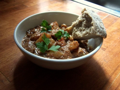 stewing (featuring Irish Lamb Stew)