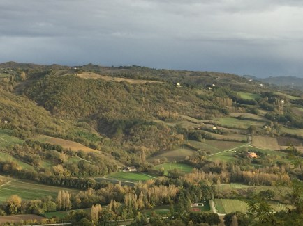 The view from Montone