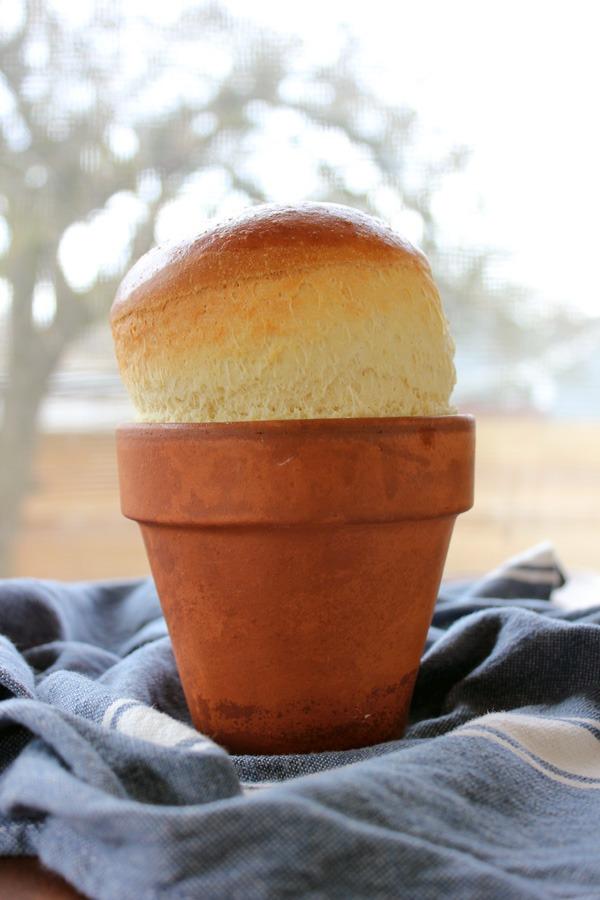 Flower Pot Bread (or is it Flour Pot Bread?)