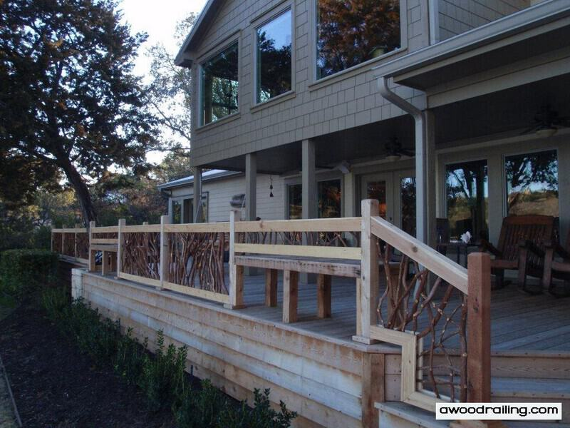 Deck Railing for Texas Lake House