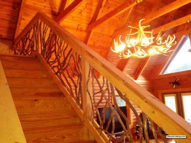 Better than Imagined! - Interior Balcony and Stair Wood Railing