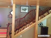 Rustic Handrails for the Home; Options and Materials for ...