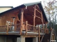 Arkansas Log Railing