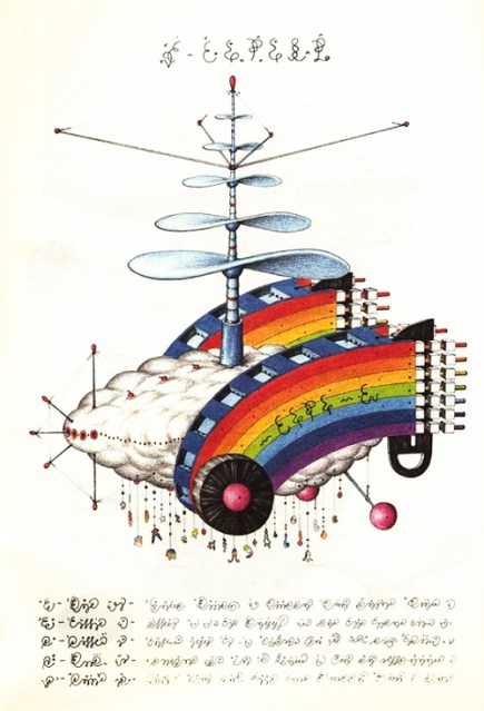 Codex Seraphinianus illustration