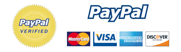 Payment methods we accept