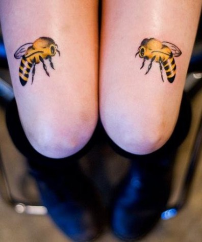 Knees and bees - so much to say. I'll leave it to you.