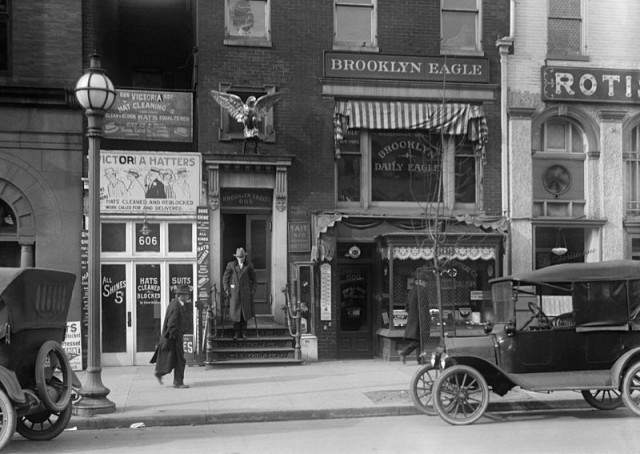 The Brooklyn Daily Eagle, where traditions began!