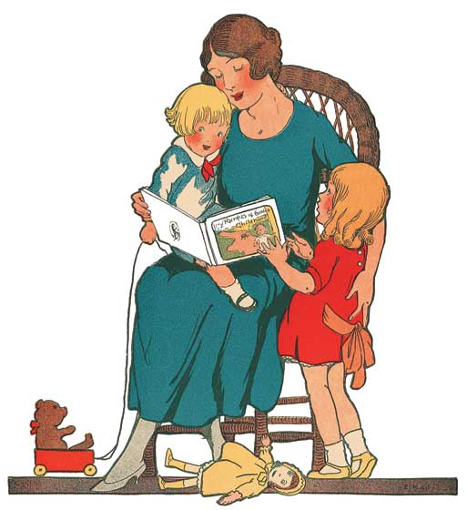 mother reading