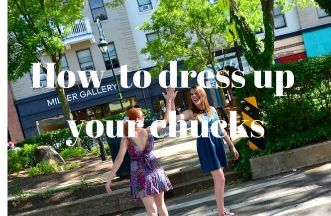 chucks + dress